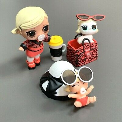 3pcs LOL Surprise Doll As If Baby & Lils Paws Pet & Lil If Sisters Set Xmas Gift