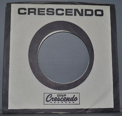 1x 45 rpm CRESCENDO company sleeve original record sleeves 7""