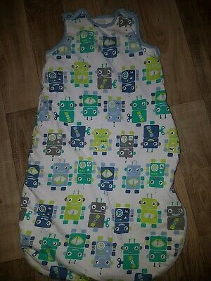 0-6 Months Baby Sleeping Bag 2.5tog By Mothercare Robots
