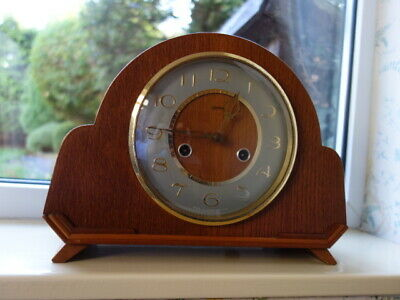 Smiths Enfield 8 day Chiming Mantle Clock c.1955