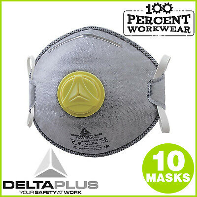 Welding Fumes Welders Strong Odour Active Charcoal FFP2 Disposable Dust Masks