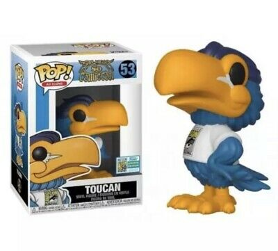 Funko Pop Toucan 2019 SDCC Official Sticker (In Hand)