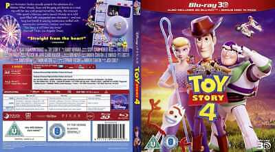 Toy Story 4 (2019, Blu-ray 3D disc)