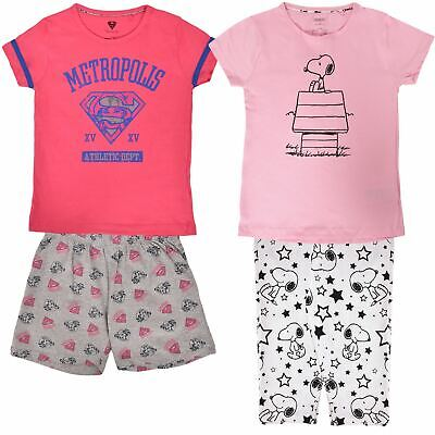 Girls Pyjama Sets Snoopy Kids Supergirl Designer Toddlers Quality