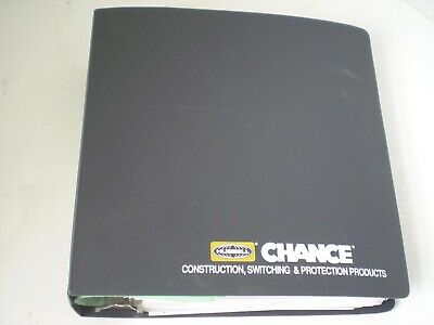 HUBBELL - A B CHANCE/HIPOTRONICS HV Line 1995 USA full trade catalogue & prices