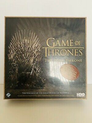 Game Of Thrones: The Iron Throne Game Brand New & Sealed
