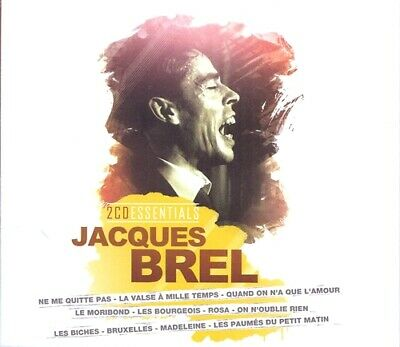 Jacques Brel - 2 CD Essentials - 2 x CD Neuf sous Blister