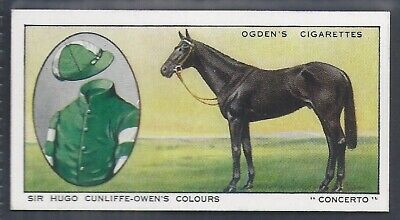 Ogdens-Prominent Racehorses Of 1933-#07- Top Quality Horse Racing Card!!!