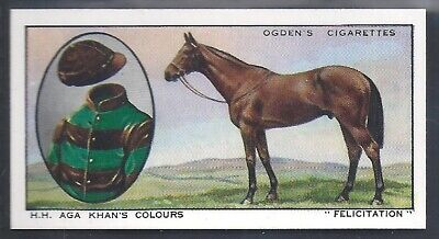 Ogdens-Prominent Racehorses Of 1933-#12- Top Quality Horse Racing Card!!!