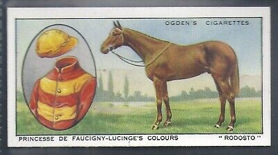 Ogdens-Prominent Racehorses Of 1933-#39- Top Quality Horse Racing Card!!!