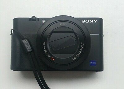 Sony DSC RX100 V, Grip, Case, Gorrillapod, Charger, SD Card, Warranty