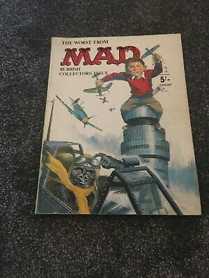 Mad Magazine book. The worst from mad rubbish collectors issue