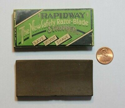 NOS Rapidway,The New Safety Razor - Blade Stropper, Hone, Pre WW11 - Japan