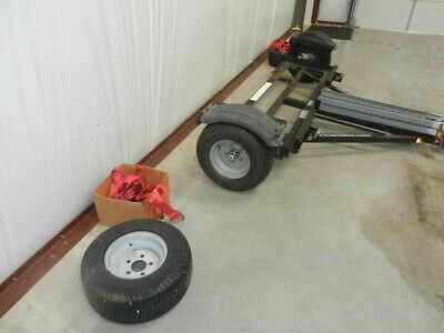 CAR & BIKE MOTRCYCLE Tow Dolly & Cycle ramps CUSTOM MADE