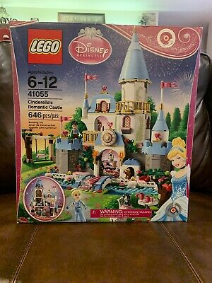 NEW!! LEGO 41055 Disney Princess Cinderella's Romantic Castle - Retired -