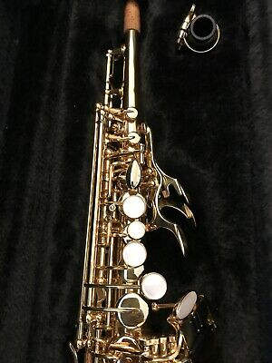Lovely Jupiter Soprano Saxophone 547 Model - Excellent Condition