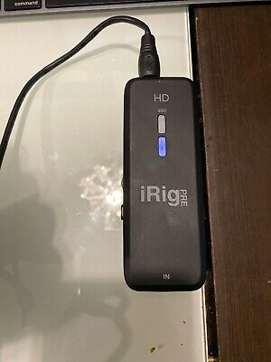 IK Multimedia iRig Pre HD Microphone Interface