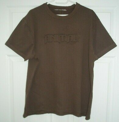 "Animal Brown XL T-Shirt 46"" Chest"