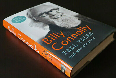 SIGNED Billy Connolly Book Hardback Tall Tales and Wee Stories First Edition 1/1