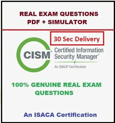 ISC2 Information Systems Security Management Pro CISSP-ISSMP Exam Q/&A PDF+SIM