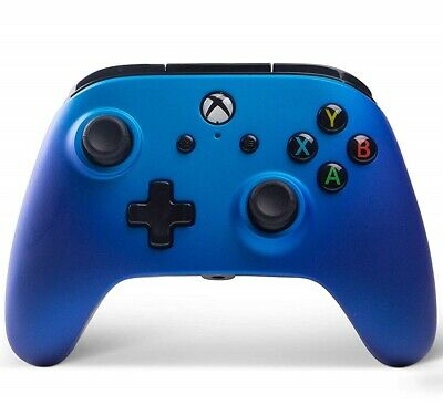 PowerA 1506684-01 Enhanced Wired Controller for Xbox One Sapphire Fade - No Lead