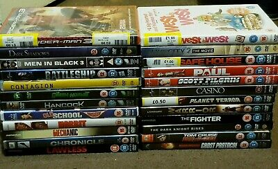 DVD's - Various Titles (Pre Owned) Available In Excellent Condition - £2 Each
