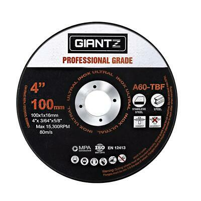 "Giantz 50 x 4"" Cutting Disc 100mm Metal Cut Off Wheel Angle Grinder Thin Steel"