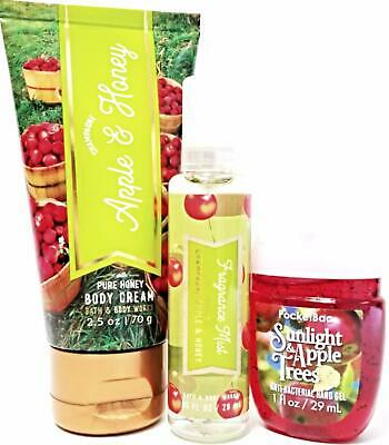 Bath & Body Works Champagne Apple & Honey Travel Lotion, PocketBac, Body Mist