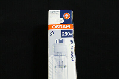 Osram Powerstar Hqi- Ts 250 W/ Dutch Neutral White FC 2 Halogen Metal Stem Lamp
