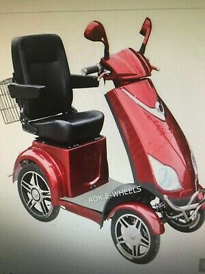 AOK mobility scooter. New 4 wheel. $3750
