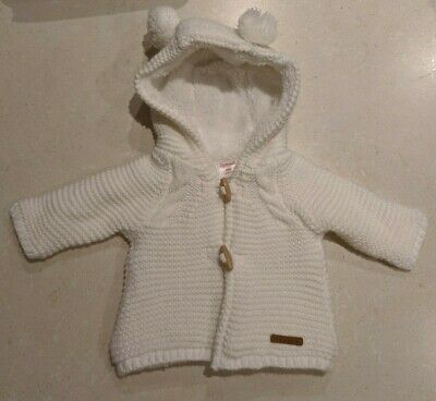 Sprout Baby Newborn Jacket White