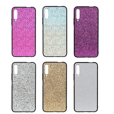 Luxury Bling Glitter Soft Silicone Rubber Protective Case Cover For Cell Phone