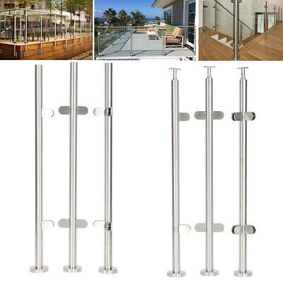 Balustrade Posts Stainless Steel Railing Post Outdoor Balcony Security Protect