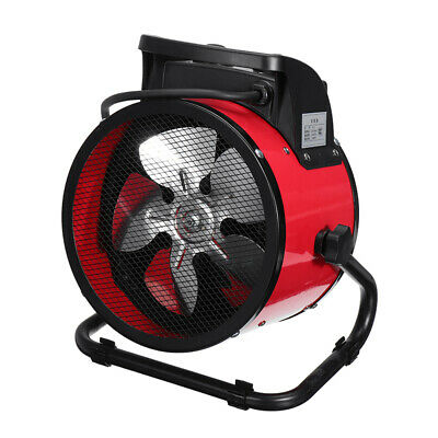 3000W Electric Portable Industrial Space Heater Ceramic Heating Fan Warmer *