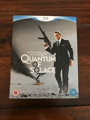 Quantum of Solace Blu Ray - James Bond - New Sealed