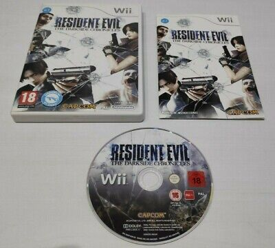 Resident Evil: The Darkside Chronicles Pal España Completo Nintendo Wii