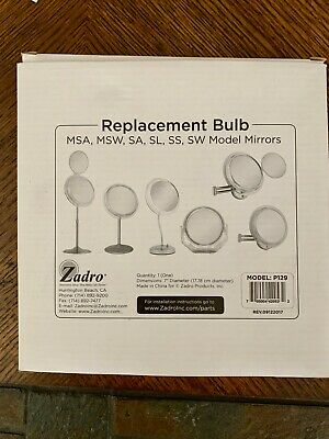 P129 Zadro 7-in Surround Light T5 22W Circular Replacement Bulb Makeup Mirrors