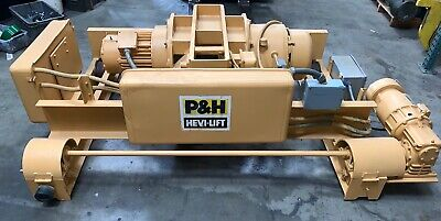 Pre-Owned P&H Hevi-Lift Wound Rotor Motor (#HEWH286RX)