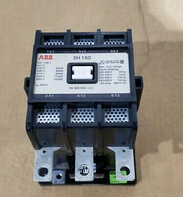 ABB EH150 Contactor with 120 Volt Coil