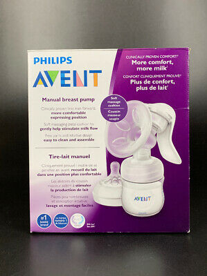 Philips AVENT, Manual Comfort Breast Pump BPA Free- FREE SHIPPING!