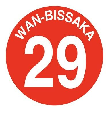 "Wan-Bissaka Manchester United Badge 25mm 1"" Pin Button Badge Football"