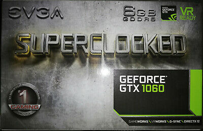 EVGA GeForce GTX 1060 6GB SC GAMING - 06G-P4-6163-KR