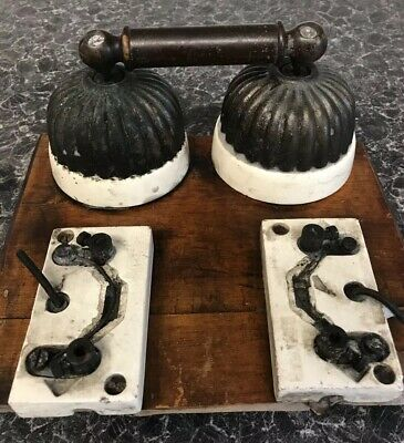 Antique Edwardian Mains  Electrical Switch Architectural Rare Old
