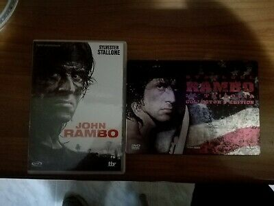 dvd RAMBO LA TRILOGIA COLLECTOR'S EDITION + JOHN RAMBO come nuovi