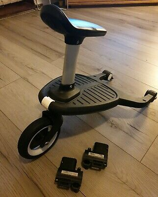 Bugaboo Comfort Wheeled Buggy Board With Seat And Adaptors