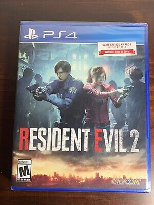 🔥 Resident Evil 2  (Sony Playstation 4, 2019) Brand PS4 New Sealed 🔥