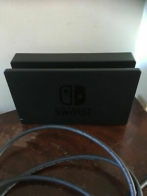 Genuine Original Official Nintendo Switch Dock + Hdmi