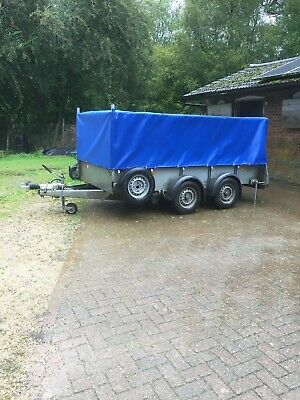 Cover for Ifor Williams GD105 Trailer