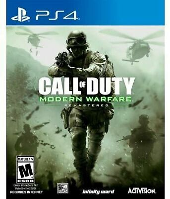 Call of Duty: Modern Warfare Remastered - PlayStation 4 Disc