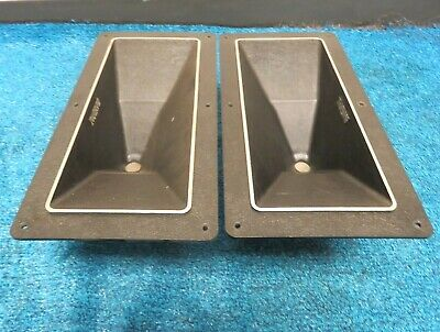 Pair ALTEC LANSING SPEAKERS MANTARAY CONSTANT DIRECTIVITY HORNS MODEL 14